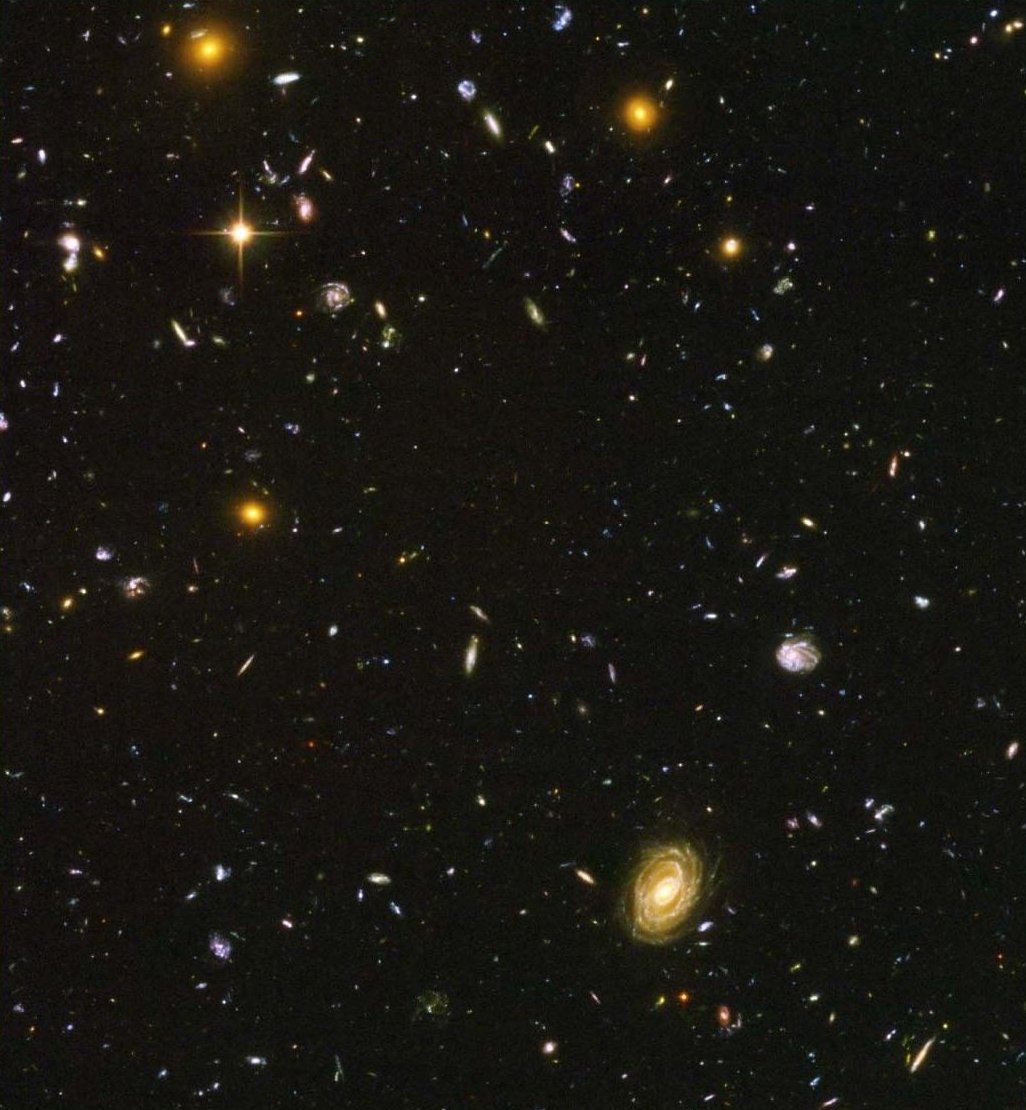 hubble looks at nothing - photo #7