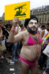 Sheikh Hassan Nasrallah, a.k.a. Lil' Pink